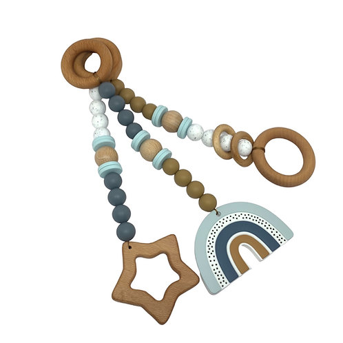 Play gym toys- Boho Blue