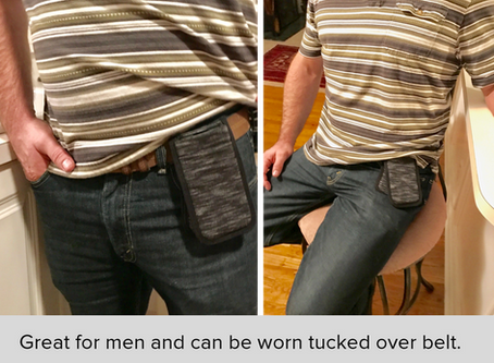 A Great Solution for Men to Carry their Cell Phone Pockets-Free