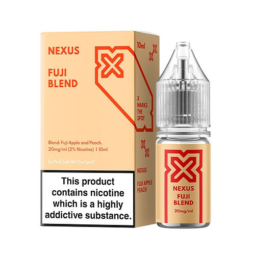 NEXUS FUJI BLEND 10ML NICOTINE SALT E-LIQUID