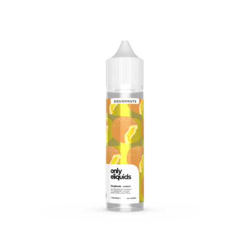 ONLY ELIQUIDS Custard Doughnut 50ml 0mg E-liquid