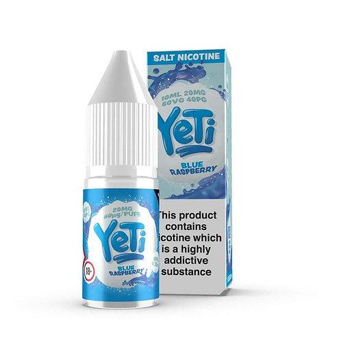 Yeti Blue Raspberry Nic Salt