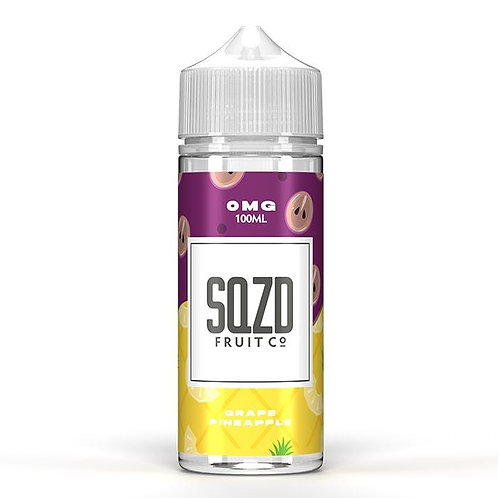Grape Pineapple By SQZD  100ml Shortfill