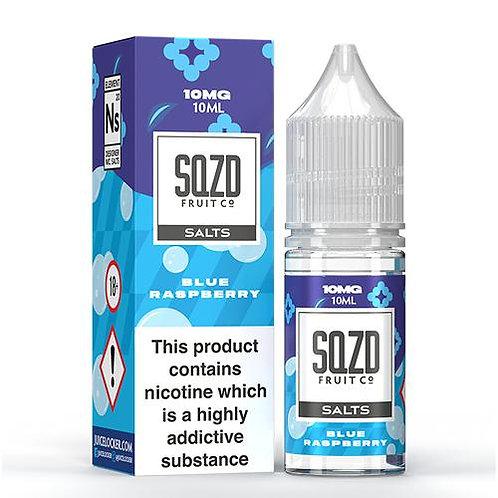 SQZD SALT BLUE RASPBERRY 10ML