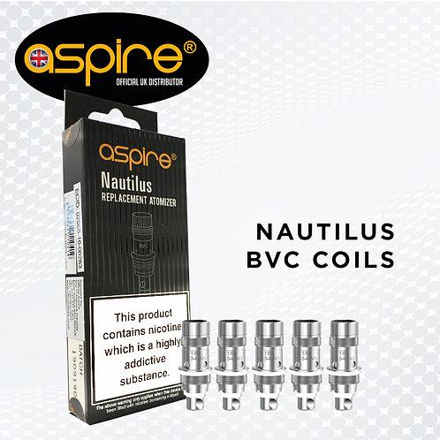 5 Pack of Aspire Nautilus Coils