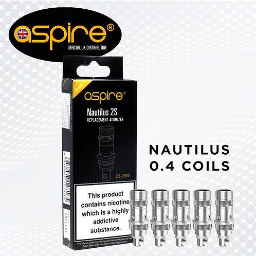 Nautilus 2s 0.4ohm BVC Coils