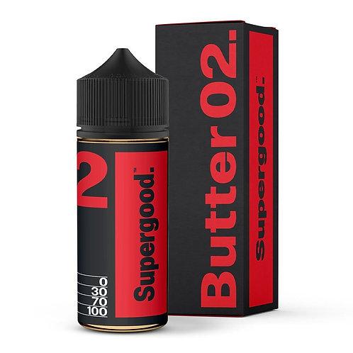 Supergood - Butter 02 E-Liquid (100ml Short Fill)