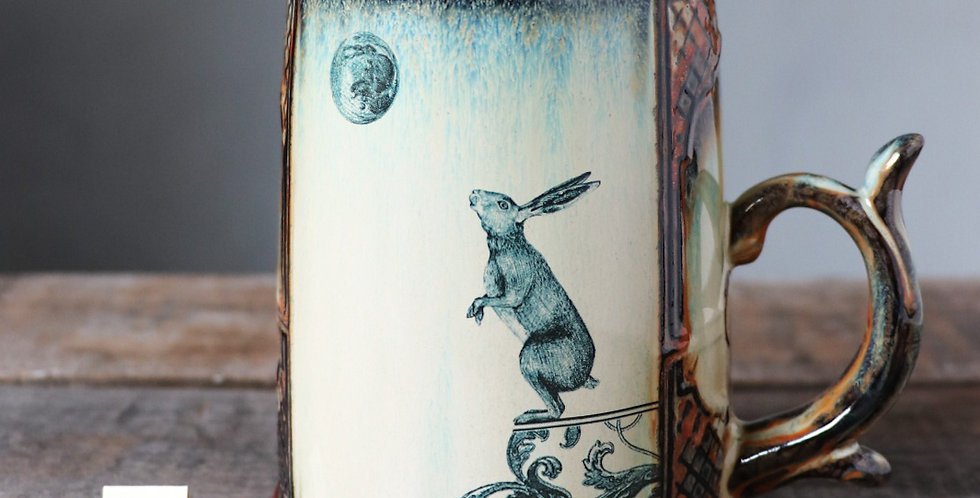 Mug 93: Lunar Hare and Bear
