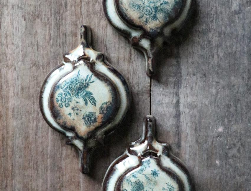 Wall Hung Bud Vase Set (3 Bud Vases)