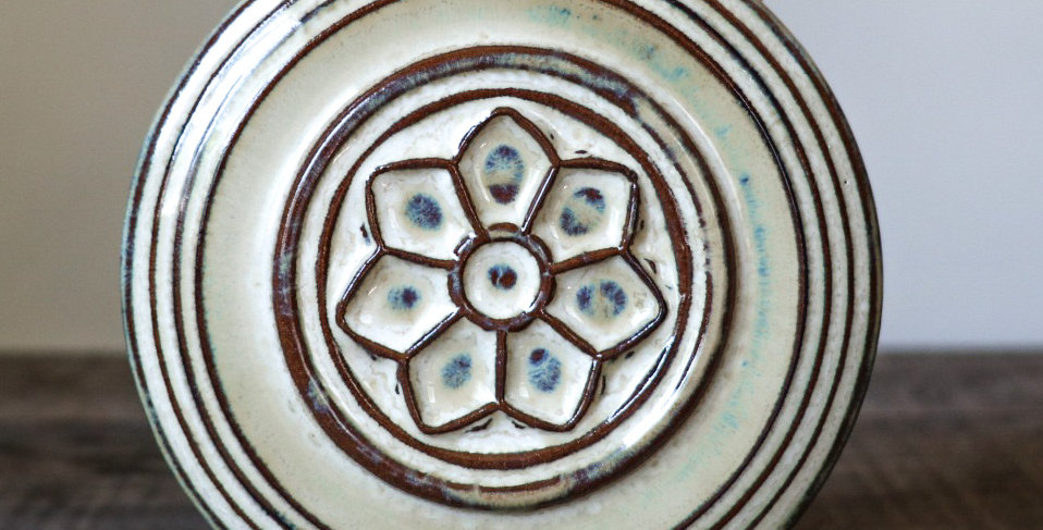 36: Round Wall Tile-Rose Window