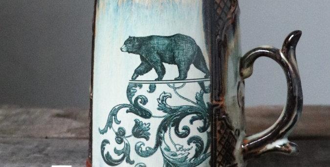 Mug 2: Bear and Lunar Hare