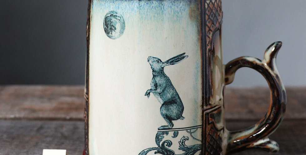 Mug 27: Lunar Hare and Bear