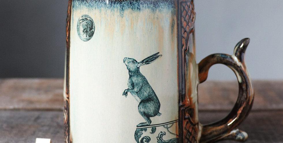 Mug 5: Bear and Lunar Hare