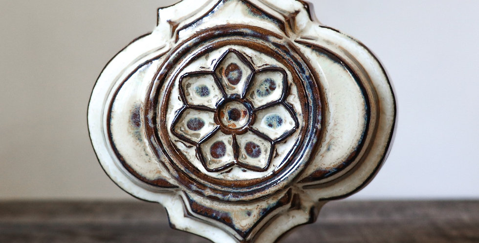 5: Quatrefoil Wall Vase-Rose Window