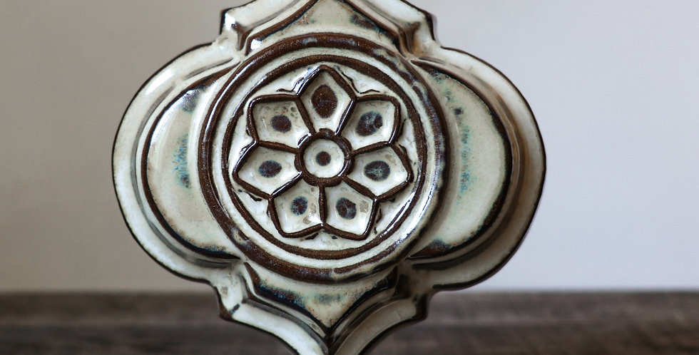 34: Quatrefoil Wall Tile-Rose Window