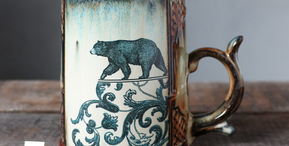 Mug 52: Lunar Hare and Bear