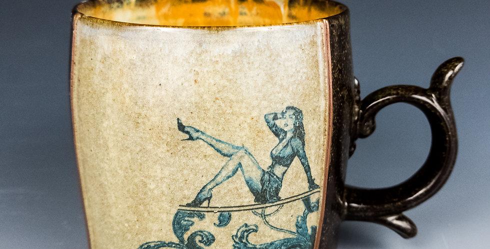 Pinup Mug- Linen (M9)