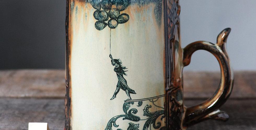 Mug 20: Leap of Faith and Rustic Roses