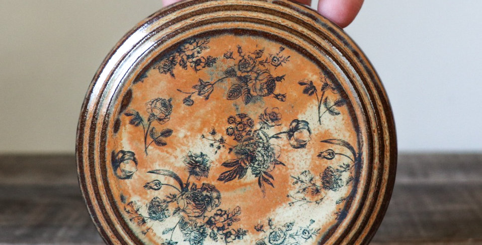 75: Round Wall Tile-Rustic Rose