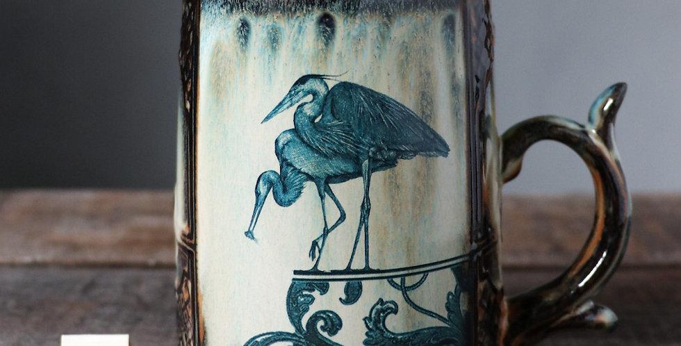 Mug 84: Herons and Leap of Faith