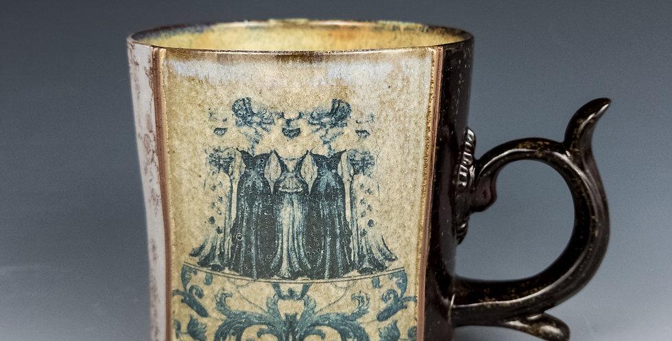 Bustles Mug- Linen (M16)