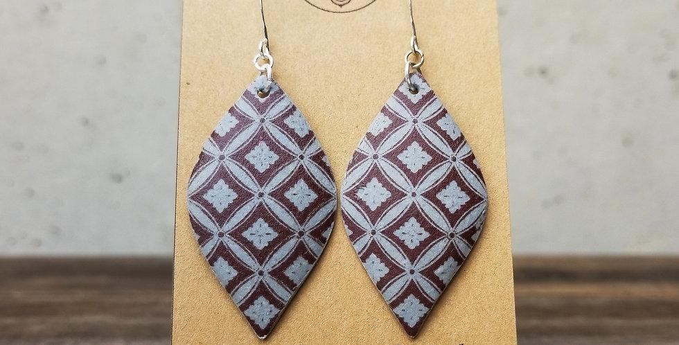 Slate Seed Earrings