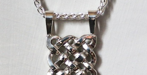 Sterling Silver Sailor's Knot (Pendant Only)