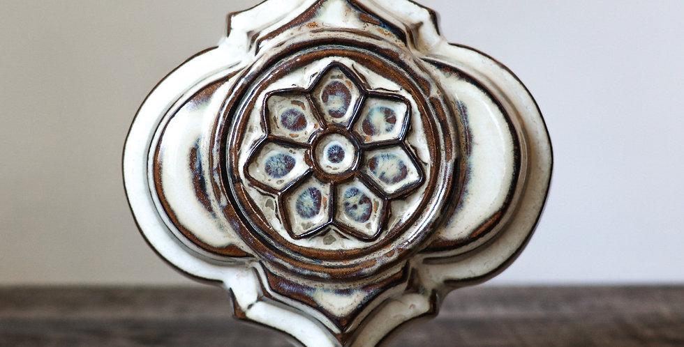 11: Quatrefoil Wall Vase-Rose Window