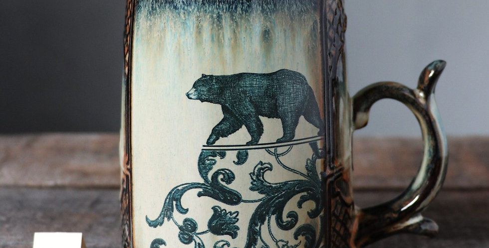 Mug 110: Lunar Hare and Bear