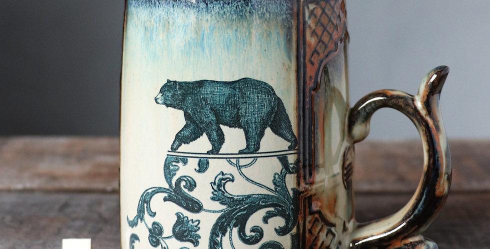 Mug 4: Bear and Lunar Hare