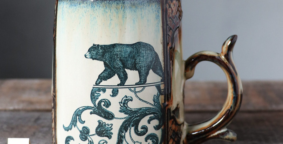 Mug 34: Heron and Bear