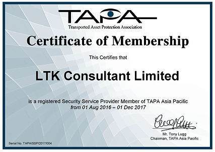 TAPA Security Services Provider