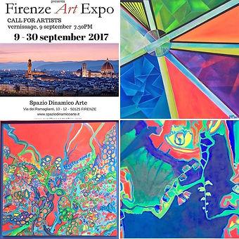 Firenze Art Expo 2017 with Rosangela Arreaza