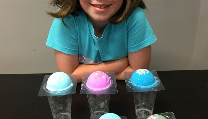 Kids Bath Bomb Making Workshop