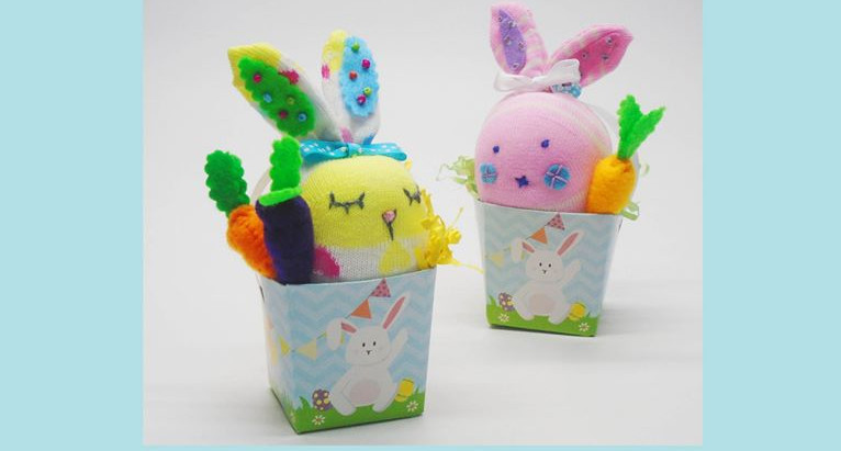 Easter Sock Bunny Workshop