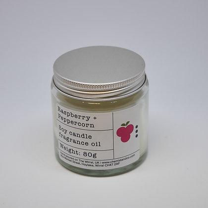 Raspberry + Peppercorn 80g