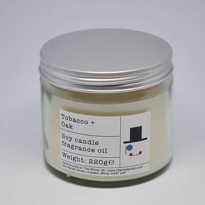 Tobacco + Oak 220g