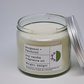 Soy Candle 220g Bergamot + Patchouli top