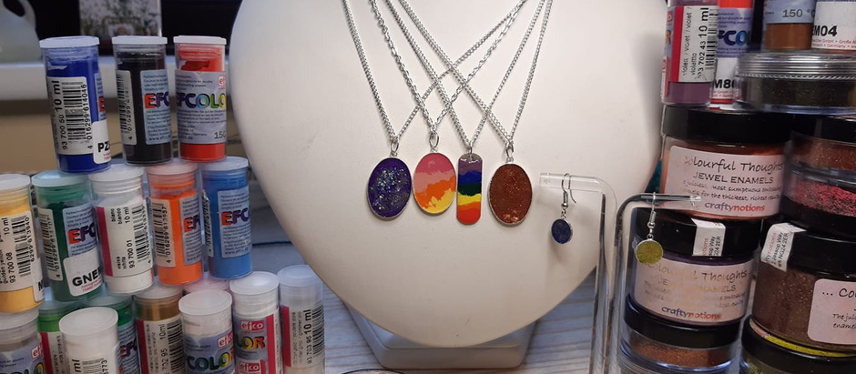 Enamelled Jewellery