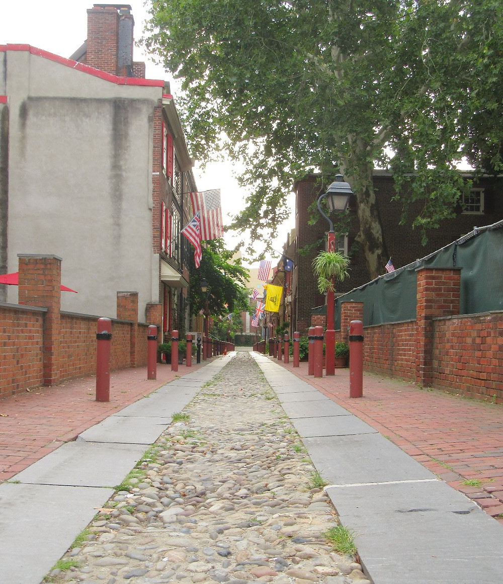 Traveleidoscope:  Elfreth's Alley, Philadelphia