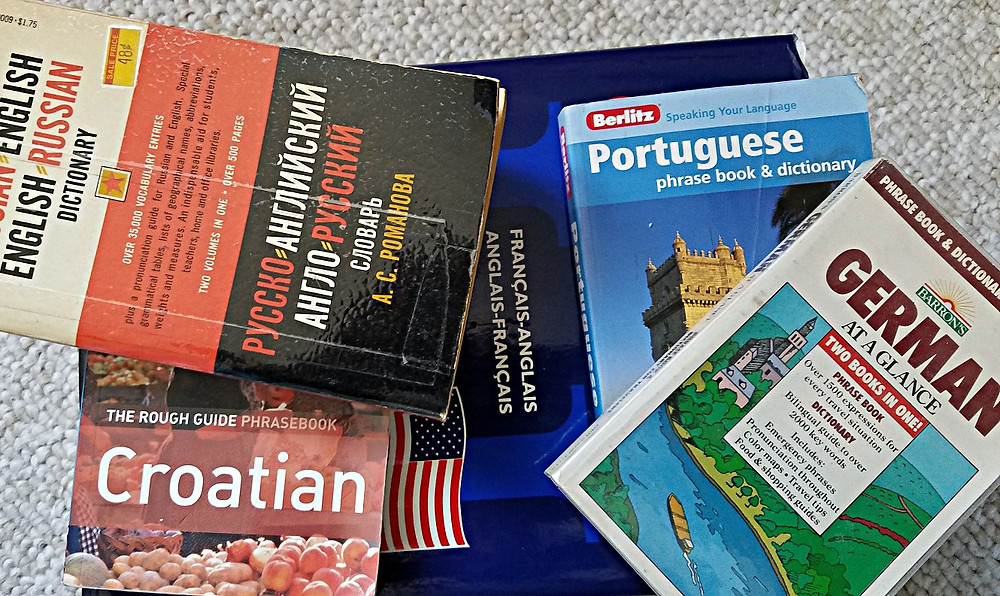 Traveleidoscope:  Phrase books and dictionaries