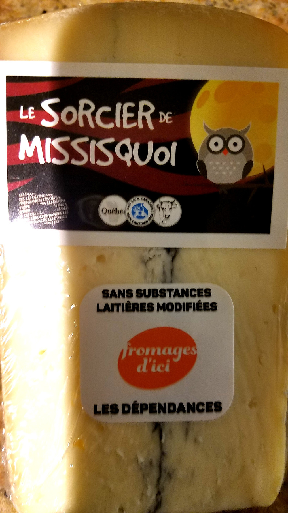 Traveleidoscope: Le Sorcier de Missisquoi morbier cheese