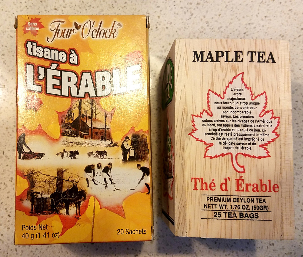 Traveleidoscope: Maple teas from Quebec