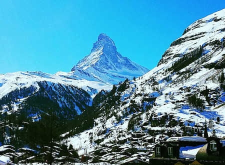 "Zermatt:  The ""Window in The Roof"""