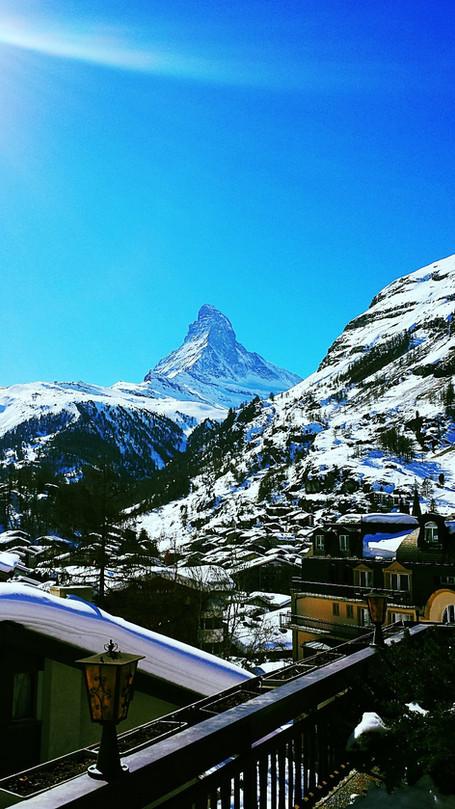 """Zermatt:  The """"Window in The Roof"""""""