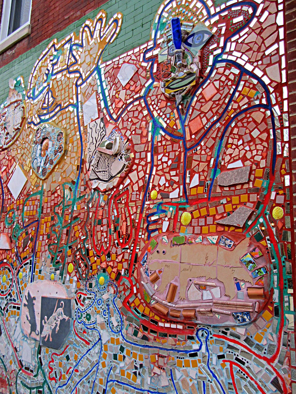 Traveleidoscope:  South Street mosaic murals, Philadelphia