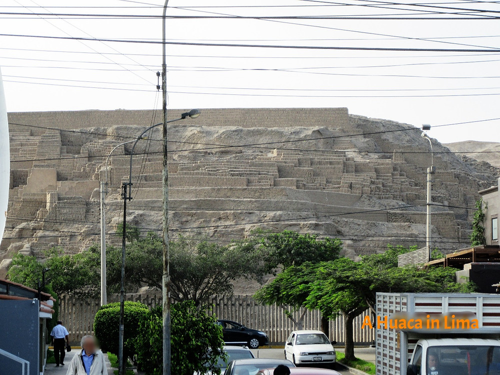 A Huaca in Lima