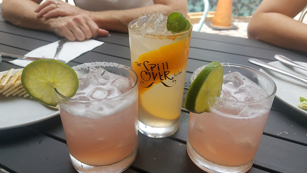 Cocktails at The Spillover, Coconut Grove, Miami, Florida