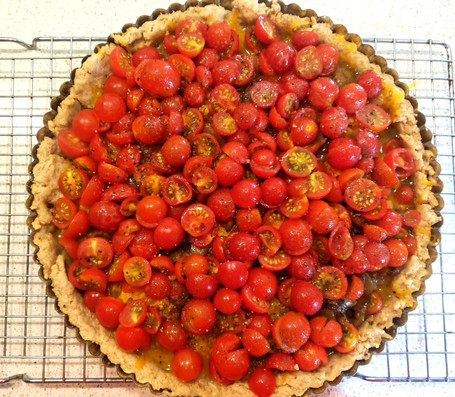 What Do I Do with All My Tomatoes?  The Answer?  Tomato Tarte!