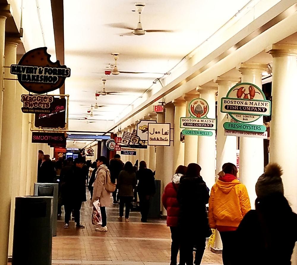 Traveleidoscope:  Quincy Market, Boston