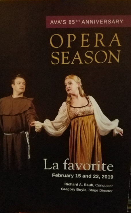 A Night at the Opera - the Academy of Vocal Arts, Philadelphia